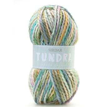 Sirdar Tundra Super Chunky - 8072 Scarves Snood & Ribbed Hat